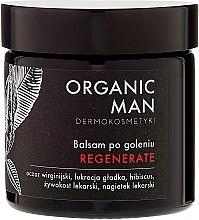 Възстановяващ балсам за след бръснене - Organic Life Dermocosmetics Man — снимка N2
