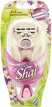Парфюми, Парфюмерия, козметика Машина за бръснене със 2 сменящи се касети - Dorco Shai 3+3