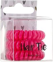 Парфюмерия и Козметика Ластици за коса , розови - Cosmetic 2K Hair Tie Pink