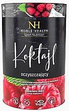 Парфюмерия и Козметика Пречистващ малинов коктейл - Noble Health Slim Line Raspberry Detox Cocktail