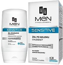 Парфюмерия и Козметика Гел след бръснене - AA Men Sensitive After-Shave Gel Cooling