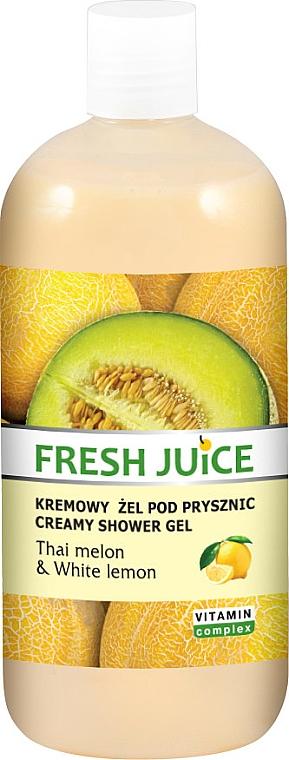 Душ крем с екстракт от тайландски пъпеш и бял лимон - Fresh Juice Thai Pleasure Thai Melon & White Lemon
