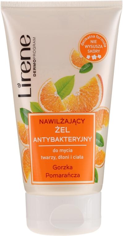 """Антибактериален гел """"Горчив портокал"""" за лице, ръце и тяло - Lirene"""