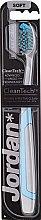 """Парфюми, Парфюмерия, козметика Четка за зъби, мека """"Expert Clean"""", сиво-синя - Jordan Tandenborstel Expert Clean Soft"""