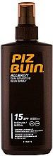 Парфюмерия и Козметика Слънцезащитен спрей за тяло - Piz Buin Allergy Spray Spf15