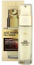 Парфюми, Парфюмерия, козметика Ревитализиращ серум за лице - L'Oreal Paris Age Perfect Cell Renew Serum