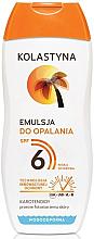 Парфюмерия и Козметика Емулсия за тен - Kolastyna Suncare Emulsion SPF6