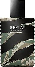 Парфюми, Парфюмерия, козметика Replay Signature For Men Replay - Тоалетна вода (тестер без капачка)