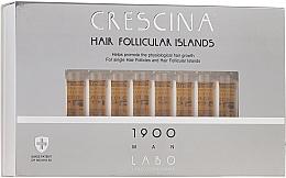 Парфюмерия и Козметика Ампули за стимулиране на растежа на косата при мъже 1900 - Crescina Hair Follicular Islands Re-Growth 1900