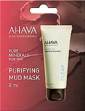 Парфюмерия и Козметика Кална маска за лице - Ahava Time To Clear Purifying Mud Mask (мостра)