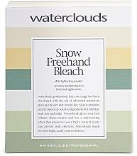 Парфюмерия и Козметика Изсветляваща пудра за балеаж - Waterclouds Snow Bleach Freehand