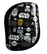 Парфюми, Парфюмерия, козметика Компактна четка за коса - Tangle Teezer Compact Styler Star Wars Multiprint Brush