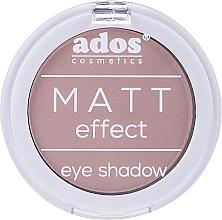 Парфюмерия и Козметика Матови сенки за очи - Ados Matt Effect Eye Shadow