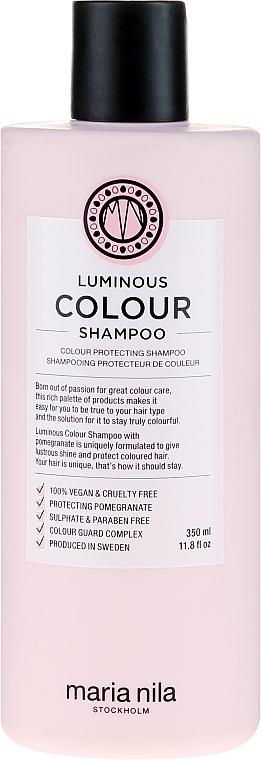 Шампоан за боядисана коса - Maria Nila Luminous Color Shampoo — снимка N3