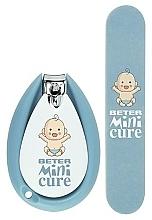 Парфюмерия и Козметика Детски маникюрен комплект - Beter Baby Minicure Duo Kit Blue