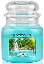 "Парфюми, Парфюмерия, козметика Ароматна свещ в бурканче ""Фиджи"" - Country Candle Fiji"