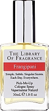 Парфюмерия и Козметика Demeter Fragrance The Library of Fragrance Frangipani Pick-Me-Up Cologne Spray - Одеколони