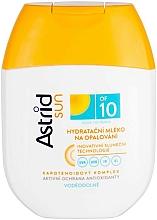 Парфюмерия и Козметика Слънцезащитно овлажняващо мляко SPF 10 - Astrid Sun Moisturizing Suncare Milk