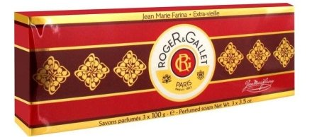 "Комплект от три парфюмни сапуна ""Жан Мари Фарина"" - Roger & Gallet Jean Marie Farina Perfumed Soaps (soap/3х100g ) — снимка N4"