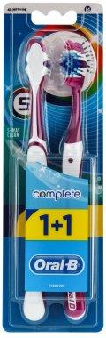 Комплект четки за зъби - Oral-B Bomplete 5 Way Clean — снимка N1
