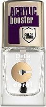 Парфюми, Парфюмерия, козметика Фиксиращ лак, с ефект на гел-лак - Delia Acrylic Booster Top Coat