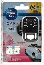 Парфюми, Парфюмерия, козметика Комплект ароматизатори за кола - Ambi Pur Car Air Freshener For Her (freshener/1szt+refill/7ml)
