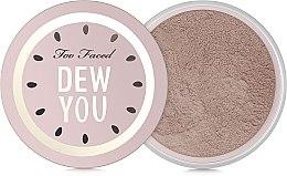 Парфюми, Парфюмерия, козметика Насипна пудра за лице - Too Faced Dew You Fresh Glow Translucent Setting Powder