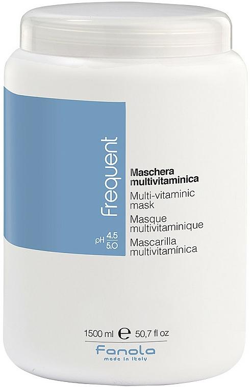 Мултивитаминна маска за коса - Fanola Frequent Multi Vitamin Mask
