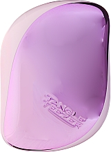 Четка за коса - Tangle Teezer Compact Styler Lilac Gleam — снимка N2