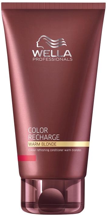 Балсам за освежаване и поддържане на цвета с топли светлинни нюанси - Wella Professionals Color Recharge Warm Blonde — снимка N1