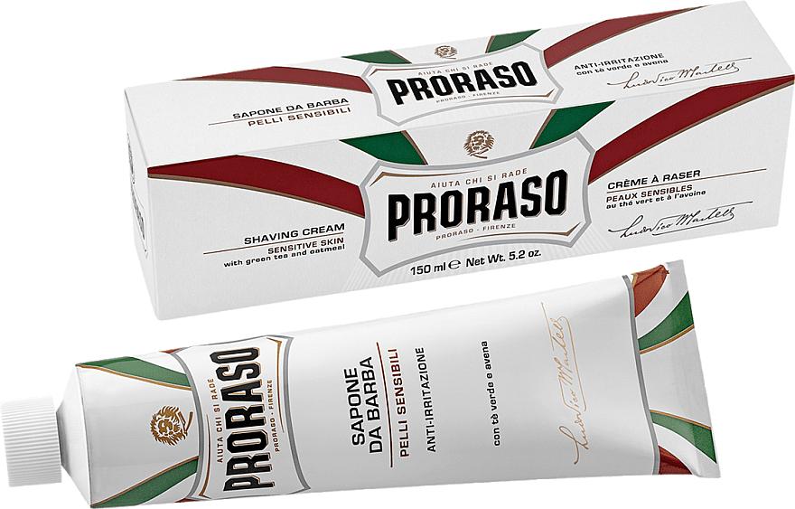 Крем за бръснене за чувствителна кожа - Proraso White Shaving Cream