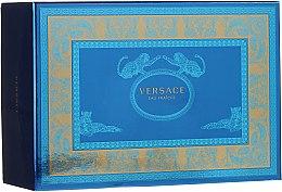Парфюми, Парфюмерия, козметика Versace Man Eau Fraiche - Комплект (edt/100ml + edt/10ml + козм. чанта)