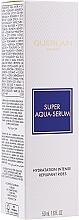 Комплект за лице - Guerlain Super Aqua Serum Set (серум/50ml + околоочен серум/5ml + маска/1бр + лосион/15ml) — снимка N4
