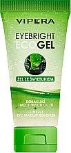 Парфюмерия и Козметика Гел за премахване на грим от очите - Vipera EyeBright Eco Gel
