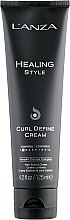 Парфюмерия и Козметика Крем за подчертаване на къдриците - Lanza Healing Style Curl Define