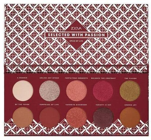Палитра сенки за очи - Zoeva Spice Of Life Eyeshadow Palette — снимка N1
