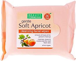 Парфюми, Парфюмерия, козметика Почистващи мокри кърпички - Beauty Formulas Gentle Soft Apricot Cleansing Facial Wipes