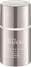 Парфюмерия и Козметика Изсветляващ крем за лице - Doctor Babor Brightening Intense Daily Bright Cream SPF20