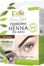 Парфюмерия и Козметика Къна за вежди - Delia Cosmetics Eyebrow Expert Brow Henna