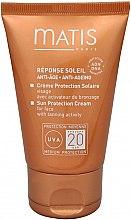 Парфюми, Парфюмерия, козметика Слънцезащитен крем за лице - Matis Reponse Soleil Sun Protection Cream SPF 20