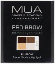 Парфюмерия и Козметика Комплект за контуриране на вежди - MUA Pro-Brow Ultimate Eye Brow Kit