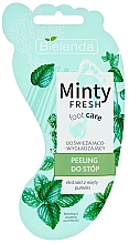 Парфюмерия и Козметика Освежаващ и изглаждащ пилинг за крака - Bielenda Minty Fresh Foot Care Refreshing & Smoothing Foot Peeling