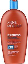 Парфюмерия и Козметика Водоустойчив слънцезащитен крем за тяло - Anne Moller Express SPF30