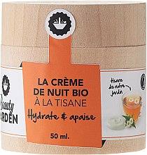 Парфюмерия и Козметика Нощен крем за лице с екстракт от билков чай - Beauty Garden Night Cream