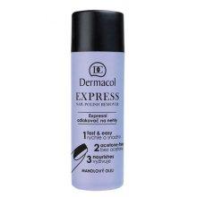Парфюми, Парфюмерия, козметика Лакочистител - Dermacol Express Nail Polish Remover