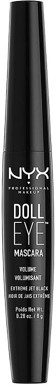 Спирала за обемни мигли - NYX Professional Makeup Doll Eye Mascara Volume