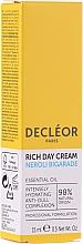 Парфюмерия и Козметика Дневен богат крем за лице - Decleor Neroli Bigarade Rich Day Cream Travel Size