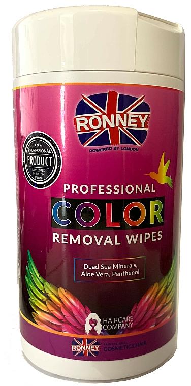 Кърпички за премахване на боя от кожата - Ronney Profesional Color Removal Wipes