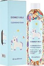 Парфюми, Парфюмерия, козметика Пяна за лице с магарешко мляко - SeaNtree Donkey Milk Waterful Cleansing Foam