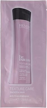 Изглаждащ шампоан за коса - Revlon Professional Be Fabulous Texture Care Smooth Shampoo (мостра) — снимка N1